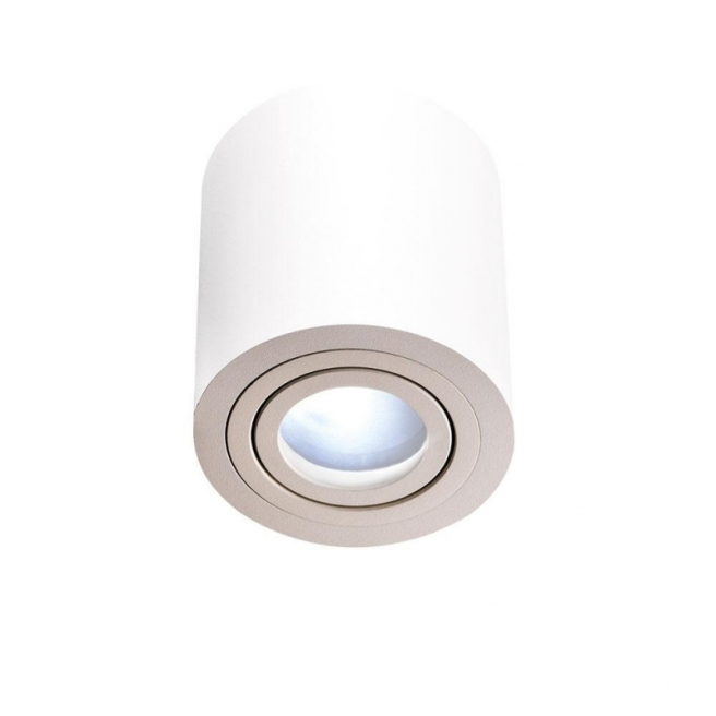 Oprawa natynkowa RULLO Bianco IP44 Downlight
