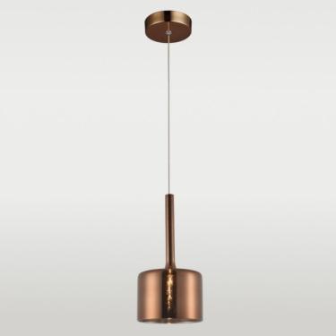 Lampa wisząca COPENHAGEN miedziana pojedyńcza P01028CU