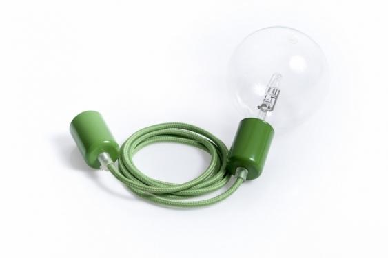 Lampa Wisząca Loft Metal Line - 09 Zielona Koniczyna