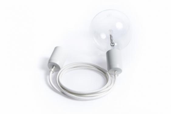 Lampa Wisząca Loft Metal Line - 16 Biały Bez