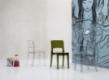 Krzesło ISY Transparentne/Dymione