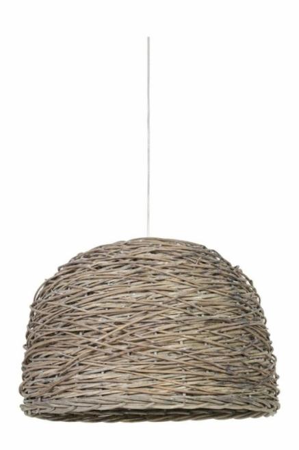 Lampa wisząca Rotan tkany naturalny