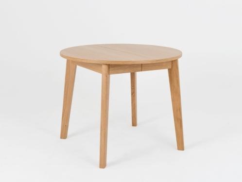 Stół jadalniany okrągły WOODYOU ROUND 95 rozkładany