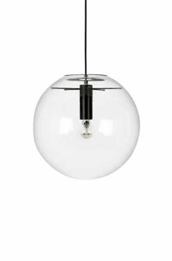 Lampa wisząca SANDRA 20 czarna - szkło, metal