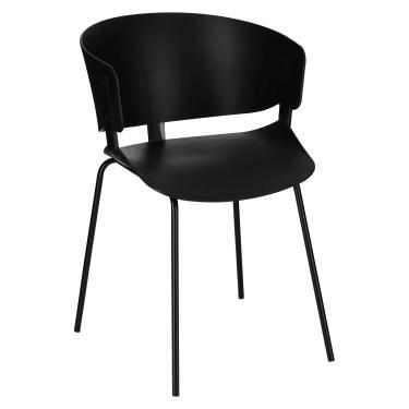 Krzesło Gondia czarne