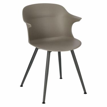 Krzesło Skal antracytowe