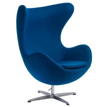 Fotel Jajo niebieski kaszmir 23 Premium