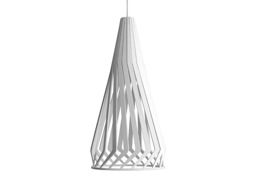 Lampa Wisząca Vega Tall White