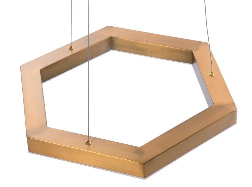 LAMPA WISZĄCA HEX LED L ŚR. 70 CM