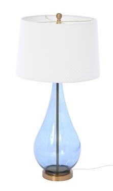 LAMPA STOŁOWA AMALFI 25X25X85 CM