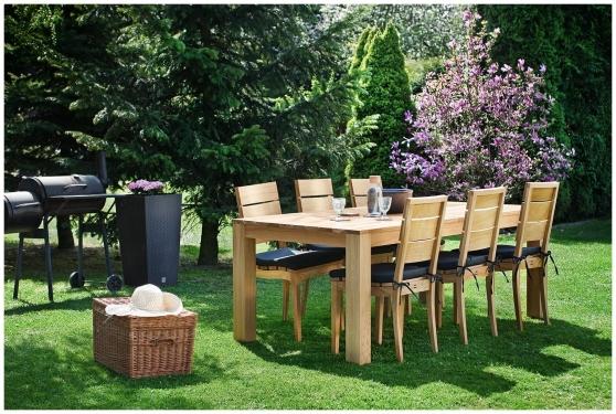 Drewniany Stół Ogrodowy 200x100 BREVA Paged Garden