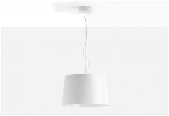 Lampa L001S/B Biały