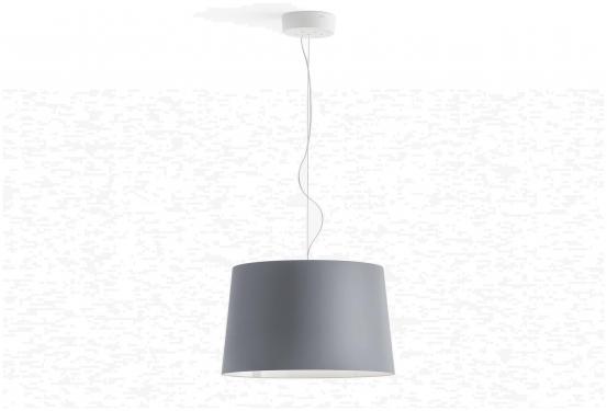 Lampa L001S/B Transparentny szary