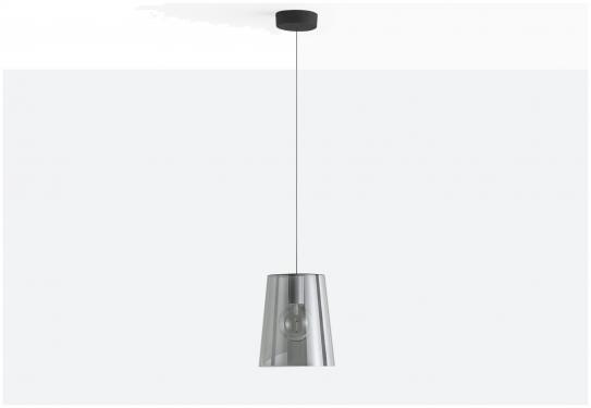 Lampa L001SW/A Transparentny czerwony