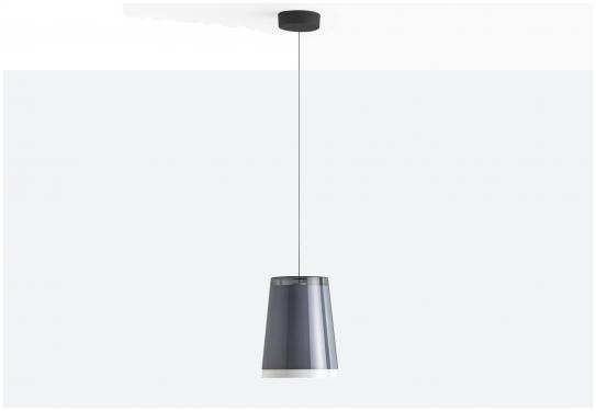 Lampa L001SW/AA Transparentny czerwony