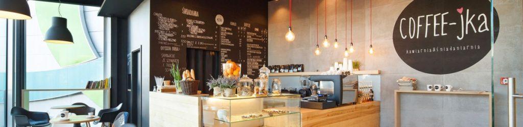 designerski wystrój kawiarnii