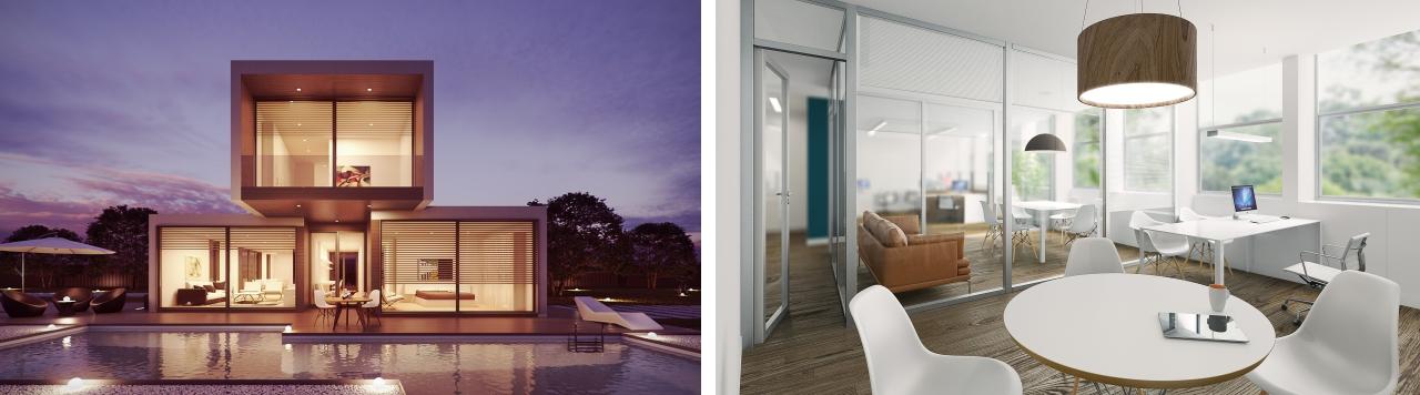 designerskie domy