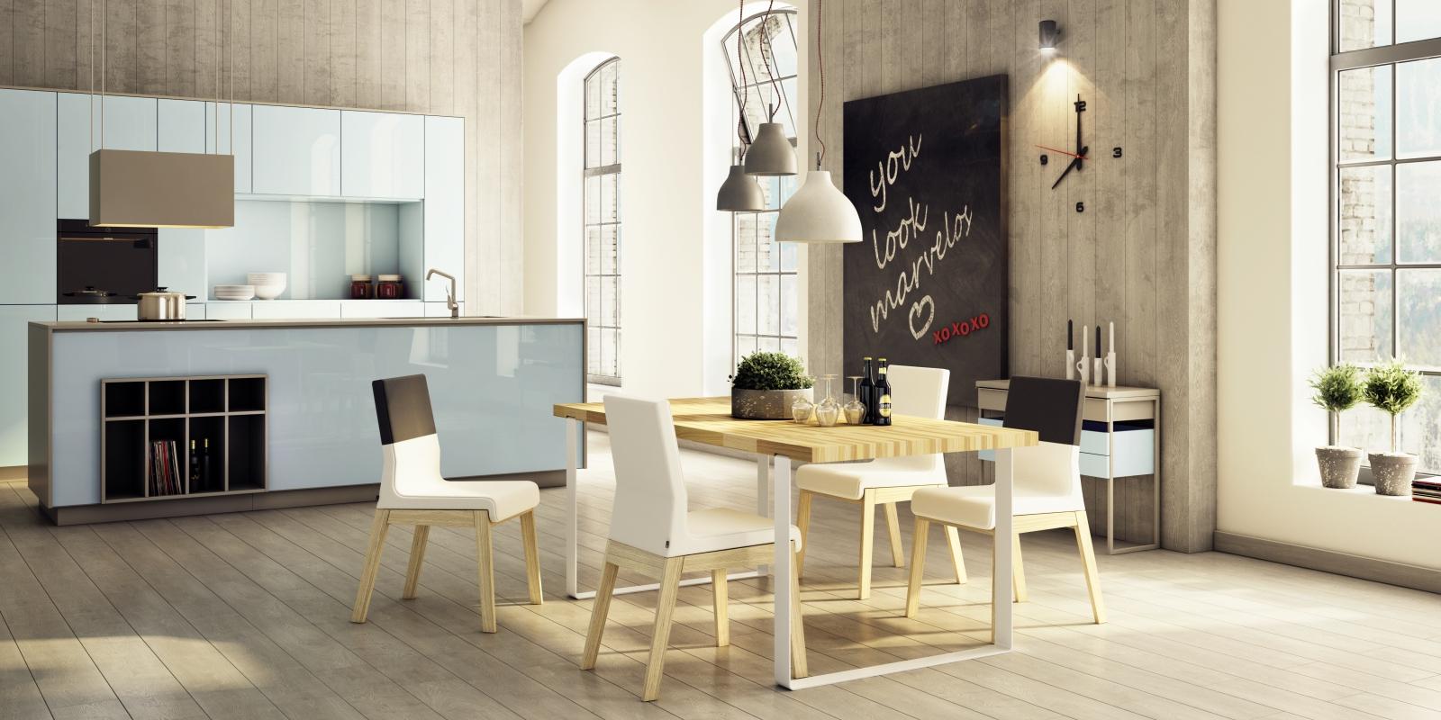 Designerski stół do salonu