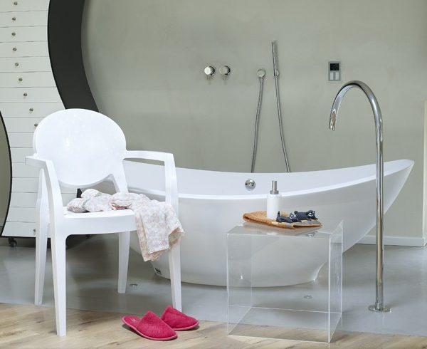 krzesło igloo scab design białe ideal design