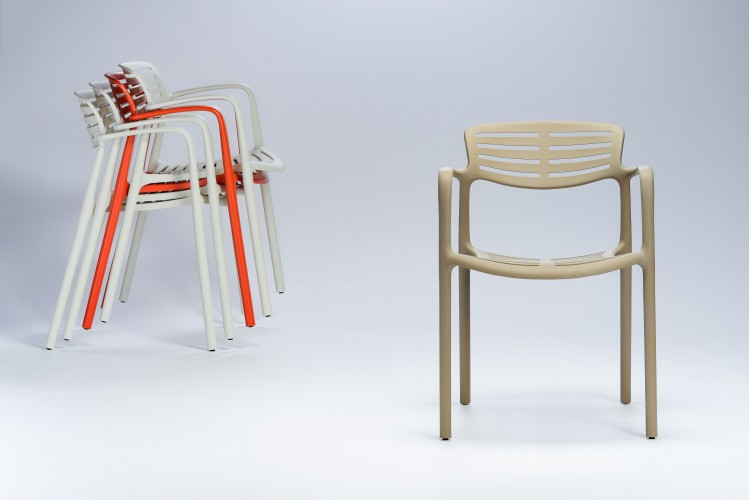 krzesło plastikowe toledo aire resol ideal design
