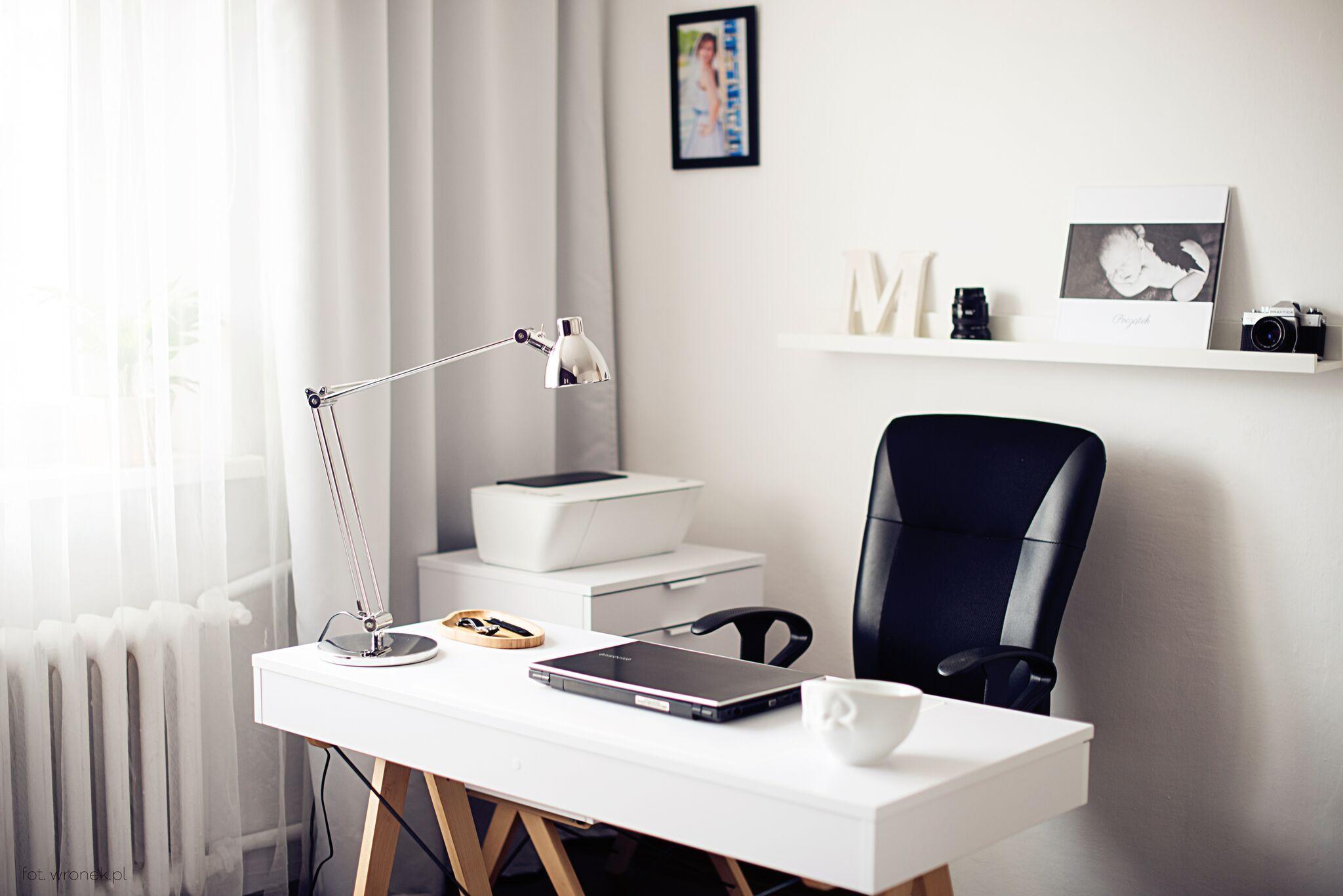 biurko basic white minko ideal design