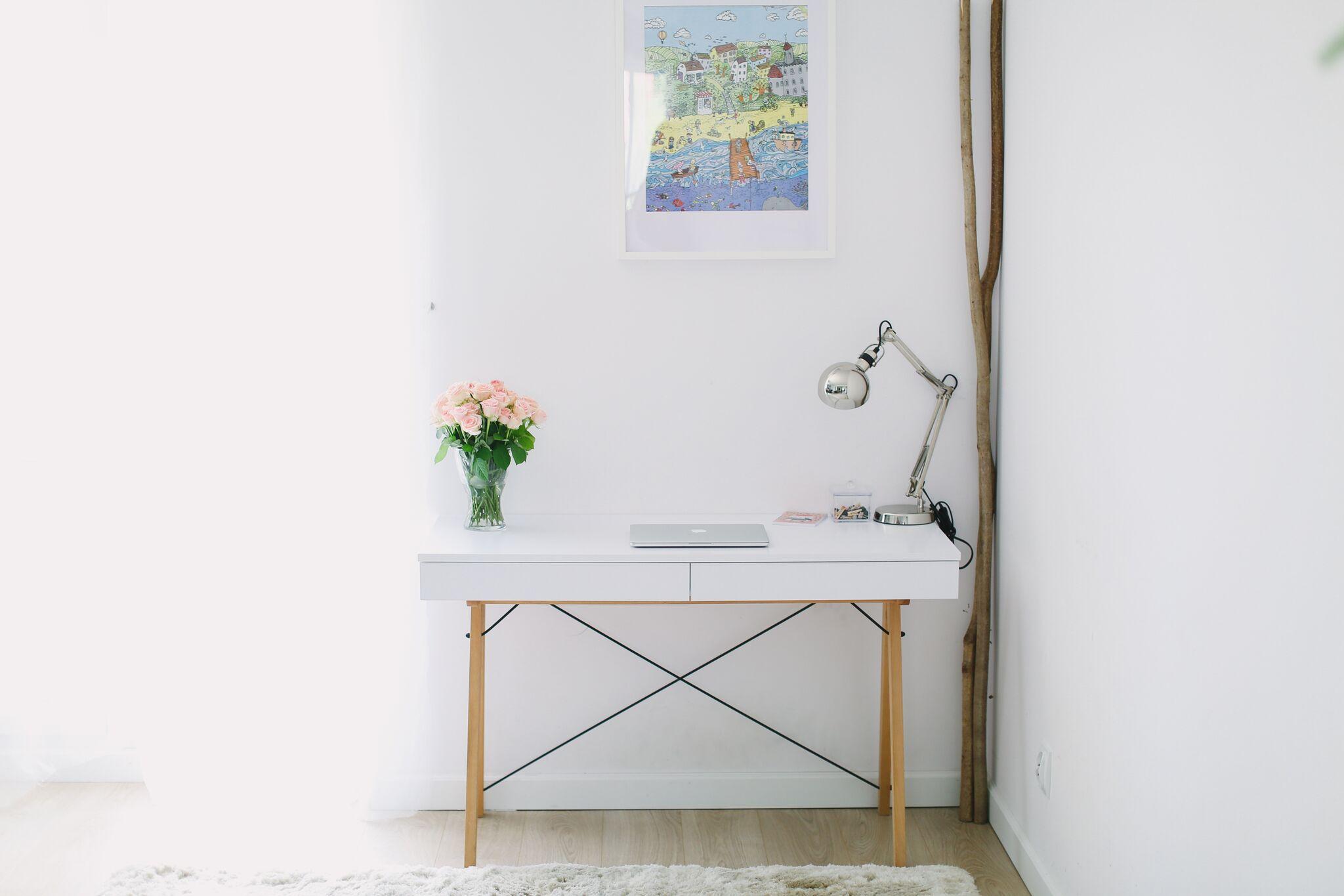 minko biurko basic white ideal design meble designerskie