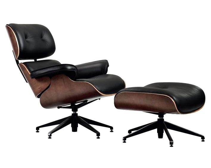 fotel z podnóżkiem lounge inspirowany design ideal design