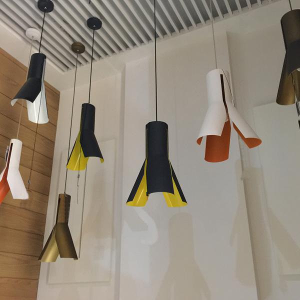 lampa altavola design origami ideal design