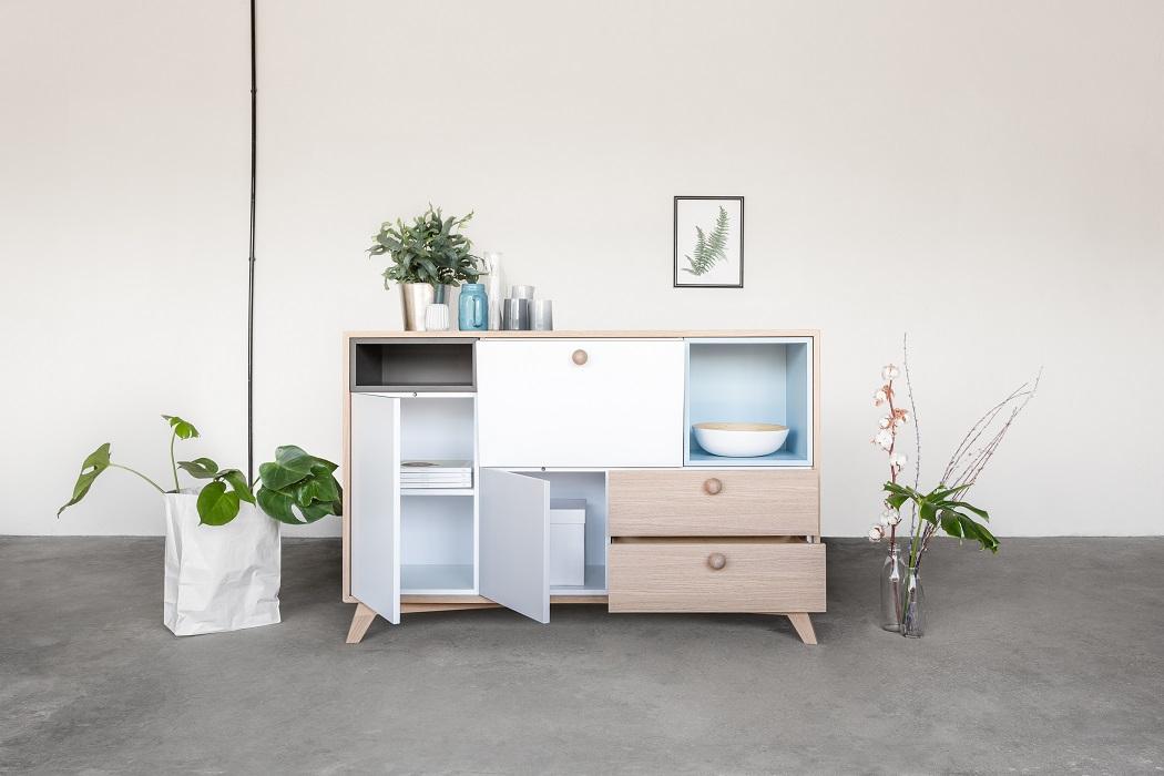 talukko designerska komoda widey drewniana polski design sklep ideal design