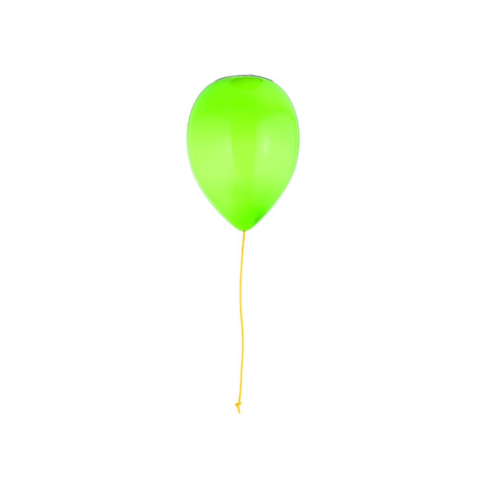 designerski szklany plafon balon ozcan 3217 zielony do pokoju dziecka kolorowy ideal design