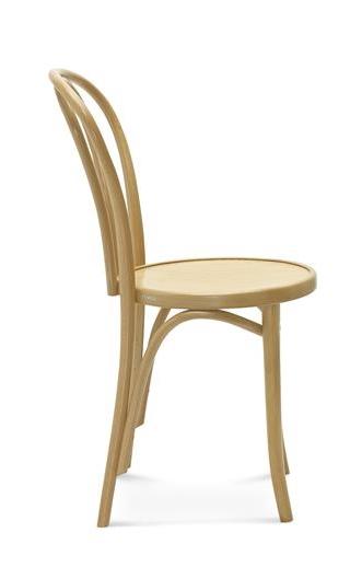 klasyczne gięte krzesło fameg a-18 ideal design