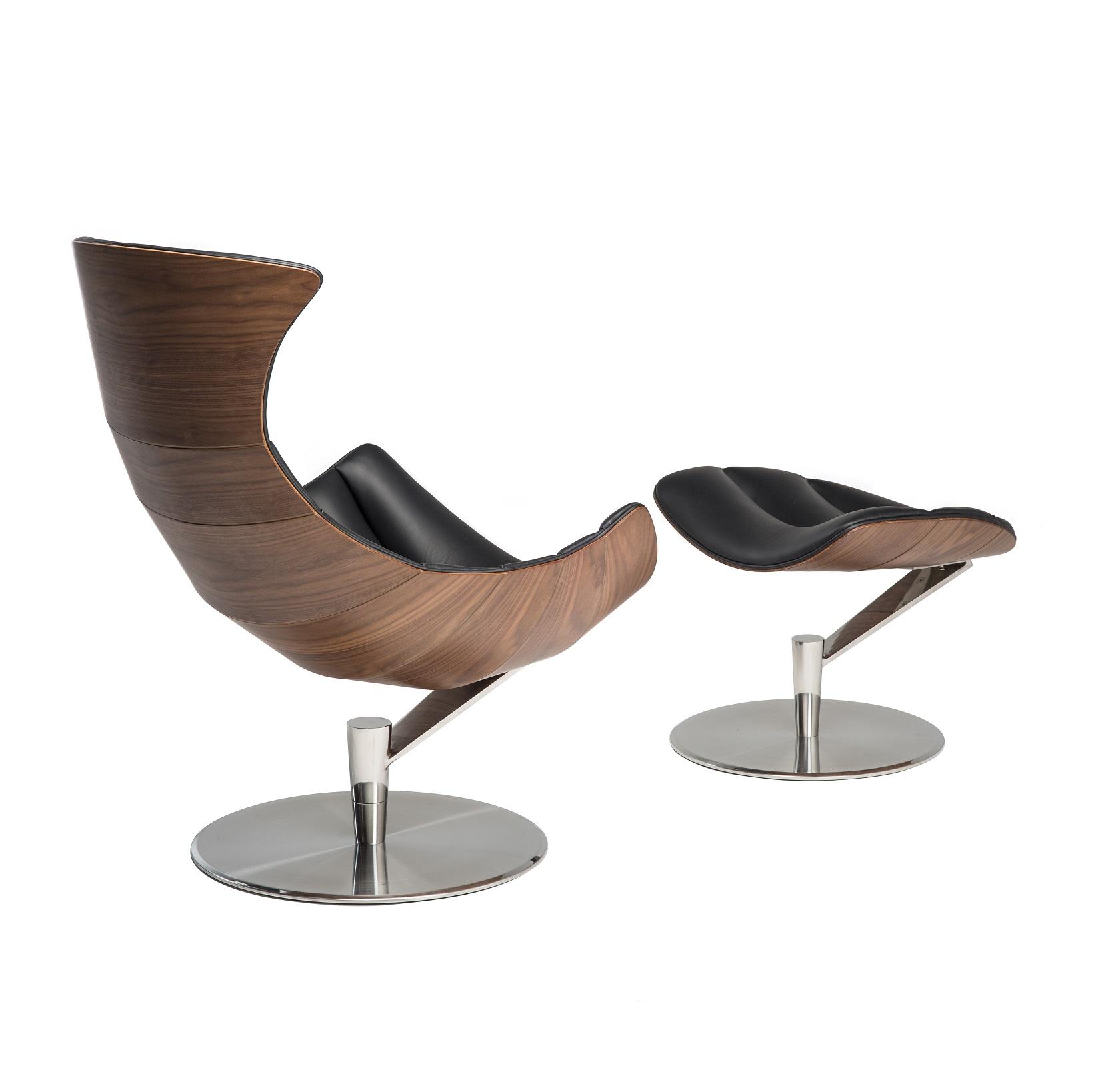 designerski fotel z podnozkiem sydney ideal design